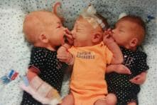 Woman Goes to Doctor Thinking She has Kidney Stones, Gives Birth to Triplets