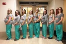 Nine Nurses Who Went Viral for Being Pregnant at the Same Time Have Now Given Birth