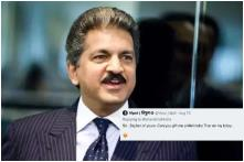 'Admire Your Chutzpah': Anand Mahindra Trolls Man Who Asked Him for Car on B'day