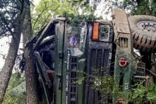 One Soldier Dead, 3 Injured as Army Truck Falls into Gorge in Himachal Pradesh