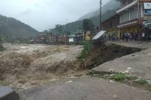 Hundreds Stranded in Himachal as Heavy Rains Trigger Landslides, 2 Missing in Chamba