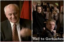 Old Pizza Hut Ad from Russia Featuring Mikhail Gorbachev is Cracking up Netizens