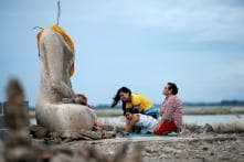 Drought Reveals Lost Temple in Thailand That Had Submerged in Water 20 Years Ago