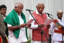BS Yeddyurappa Sworn in as Karnataka Chief Minister