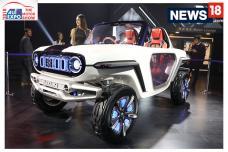 Auto Expo 2018: Maruti Suzuki E Survivor Concept First Look