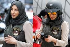 Meet Maryam Ahmed Al-Moalem Saudi Arabia's 1st Female Biker