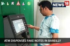 ATM Dispenses Fake Notes in Bareilly