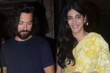 Shruti Haasan Enjoys a Dinner Date with Rumoured Beau Michael Corsale