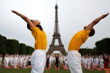Yoga Day Preparations Happening Across World