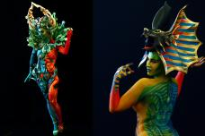 Amazing Artworks on Display at the World Bodypainting Festival