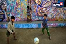 Art Brings Hope And Smiles To Rohingya Refugee Camp