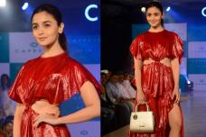 Alia Bhatt Sashays Down the Ramp for Caprese Collection; See Pics