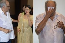 Janhvi, Boney Kapoor Burst Into Tears While Remembering Sridevi