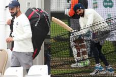 Virat Kohli Sweats it Out Hard in Nets Ahead of 3rd Test in England