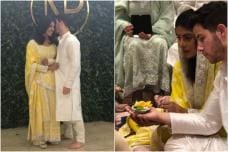 Pictures From Priyanka Chopra & Nick Jonas' Roka Ceremony