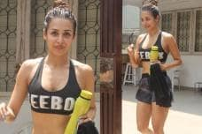 PICS: Svelte Beauty Malaika Arora Spotted Post Her Gym Session