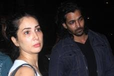PICS: Kim Sharma's Dinner Date with Rumored BF Harshvardhan