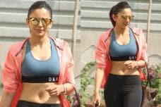 PICS: Svelte Beauty Rakul Preet Singh Papped at the Gym