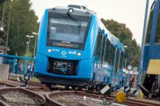 World's First Hydrogen-Powered Train Rolls Out in Germany