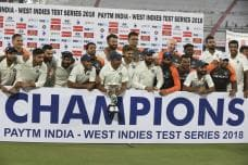 IN PICS | India vs West Indies, Second Test Day 3 at Hyderabad