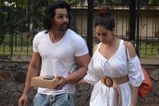 Kim Sharma Walks Hand-In-Hand With Rumoured BF Harshvardhan
