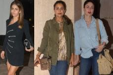 Bollywood Divas Add Oomph to Manish Malhotra's Party