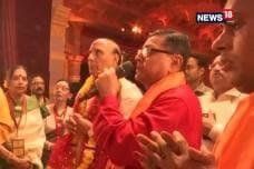 Rajnath Singh Visits Durga Puja Pandal, Ramlila in Delhi