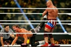Crown Jewel World Cup: Photos From WWE Event in Saudi Arabia