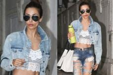 PHOTOS| Svelte Beauty Malaika Arora Papped at the Gym