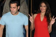 Salman Khan, Sonakshi Sinha at Zaheer Iqbal's Birthday Party
