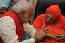 Celebrity Devotees of Lingayat Seer Shivakumara Swami