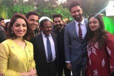 Real and Reel URI Team Bond in New Delhi on Army Day