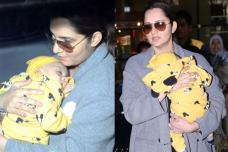 Airport Sightings: Sania Mirza Spotted With Adorable Baby Izhaan