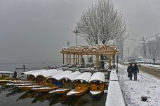 Photos Capture the Beauty of Kashmir During Chillai Kalan