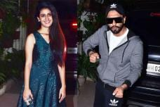 Priya Prakash Varrier & Ranveer Singh Bond at Uri Screening