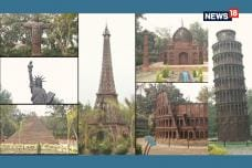 Artists Turn Scrap Into Replicas Of Seven Wonders Of World In Delhi