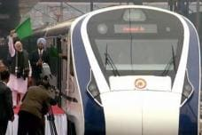 PHOTOS| PM Modi Flags Off Vande Bharat Express in New Delhi