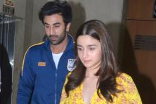 Ranbir Kapoor Watches Gully Boy with His Ladylove Alia Bhatt