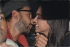 Deepika & Ranveer's Cute PDA Moments at Gully Boy Screening