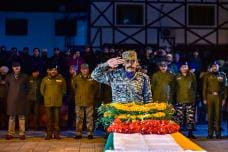 Wreath laying ceremony of Martyr HC Abdul Rashid