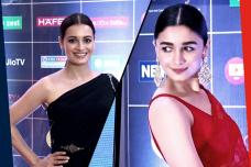 News18 Reel Movie Awards 2019: Alia, Sobhita, Dia Lead the Glam Brigade On the Red Carpet