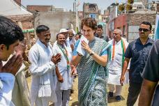 Photos From Priyanka Gandhi Vadra's 3-Day Eastern UP Tour