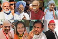 PICS: Politicians Cast their Vote for Lok Sabha Elections 2019