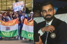 Fans Cheer as Team India Leaves for Cricket World Cup 2019