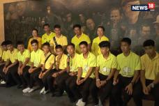 Thai Soccer Team Marks Cave Ordeal Anniversary With Buddhist Rites