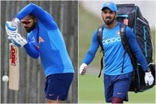 India vs Afghanistan: Team India Sweat It Out Ahead of Match