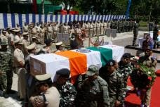 Anantnag Terror Attack: Wreath Laying Ceremony for CRPF Martyrs