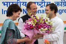 Rahul Gandhi Celebrates 49th Birthday with Party Workers