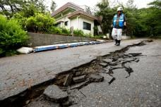 PHOTOS: Powerful Earthquake Jolts Northwest Japan