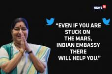 Sushma Swaraj | Peoples Minister who Broke the Glass Ceiling and Won Twitter